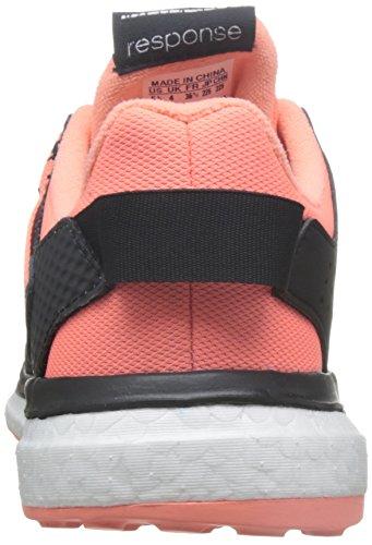 adidas Response 3 W, Scarpe da Corsa Donna Nero (Core Black/sun Glow/tech Green)