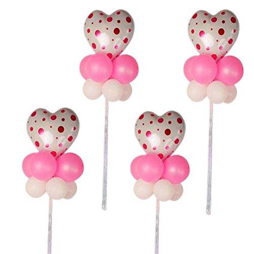 angieren in Gruppen Latex Party Hochzeit Herzförmige Stern Ballons (Partei-versorgung-großhandel)