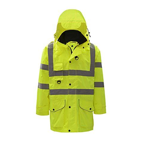 Zyj stores-Chaleco visibilidad Ropa de algodón Reflectante Ropa de Seguridad Vial Equitación...