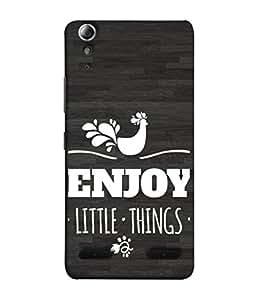 Fuson Designer Back Case Cover for Lenovo A6000 Plus :: Lenovo A6000+ :: Lenovo A6000 (Enjoy Little Things Birds Cock)