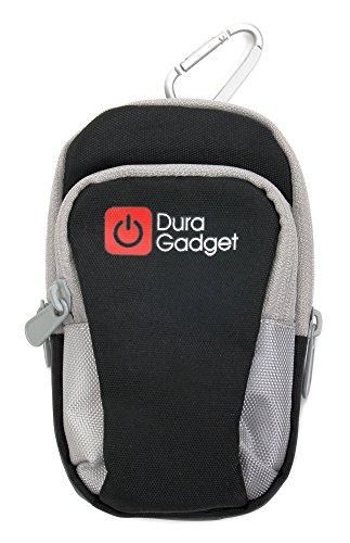 Outdoor-Hülle Mini-Tasche mit Karabinerhaken und Klettverschluss-Armband für Jitterbug Touch3 und Emporia Comfort V66 | Euphoria V50 | Flip Basic F220 | Glam V34 | Prime | Select V99 Mobiltelefone