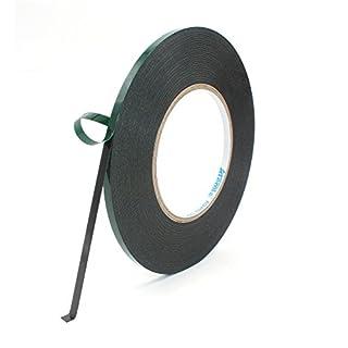 Mounting Tape, Atemto Double Sided Foam Tape 19.68mil X 0.2inch X 65ft Industrial Strength Sticky Adhesive Glue Heavy Duty Dustproof Waterproof (5mm)