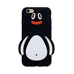"""iPhone 6S Case, MC Fashion 3D Japanese Cartoon Rinkadoll Super Cute Soft Silicone Case Cover for Apple iPhone 6S 4.7"""" (2015) & iPhone 6 4.7"""" (2014) (Penguin)"""