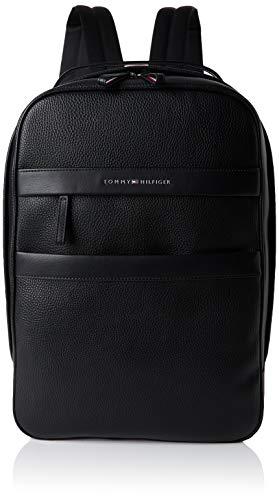 Tommy Hilfiger Th Business Backpack - Portafogli Uomo, Nero (Black), 1x1x1 cm (W x H L)
