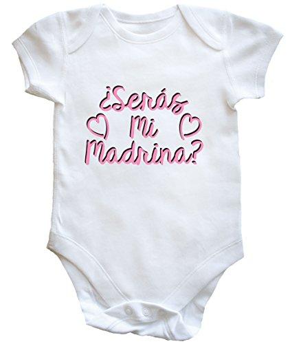 HippoWarehouse ¿Serás Mi Madrina? (Rosa) Body Bodys Pijama niños niñas Unisex