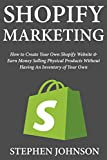 Shopify Marketing: How to Create Your Own Shopify Website & Earn Money Selling Physical Products Without Having An Inventory of Your Own (English Edition)