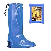 Feetz Pocket Wellies (Small (UK 4-6), Blue)