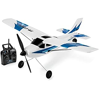 Top Race 3 Channel Remote Control Airplane, Built in 6 Axis Gyro System Super Easy To Fly RTF. TR-C285