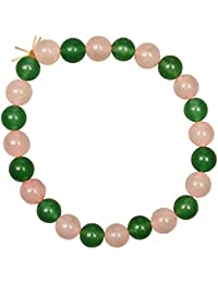 Harmony Heart Chakra Bracelet Rose Quartz Green Aventurine Bracelet Holistically Charged Reiki Feng Shui Crystals...
