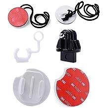 MadridGadgetStore® Kit Básico Esencial Accesorios de Surf para Cámara Go Pro GoPro Hero7 Hero6 Hero5