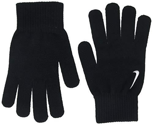 Nike Erwachsene Swoosh Knit Handschuhe, Black/White, S/M (Nike Spandex Für Frauen)