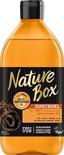 Nature Box Duschgel Aprikosen-Öl, 6er Pack (6 x 385 ml)