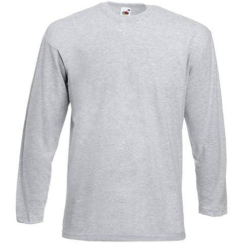 Shirt a manica lunga T-shirt di Fruit of the Loom