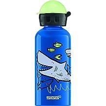 Sigg Jungen Sharkies Trinkflasche, Mehrfarbig, 0.4 L