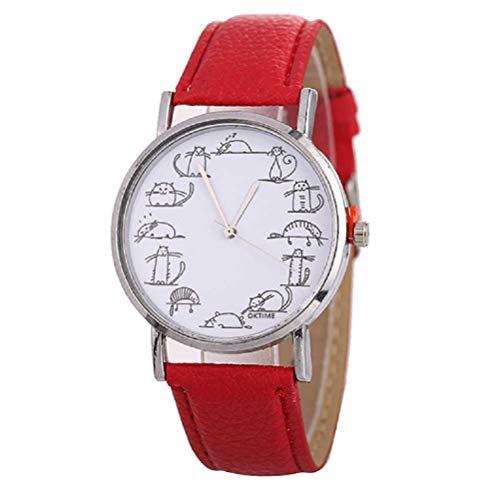 ⏰Característica: ⏰100% nuevo y de alta calidad. ⏰Movimiento del reloj: reloj de cuarzo. ⏰Estilo de reloj: simple, moda casual ⏰Diámetro de la superficie: 37mm ⏰Grosor del dial: 7.8mm ⏰Ancho de la correa: 19.8mm ⏰Longitud de la correa: 240mm (incluido...