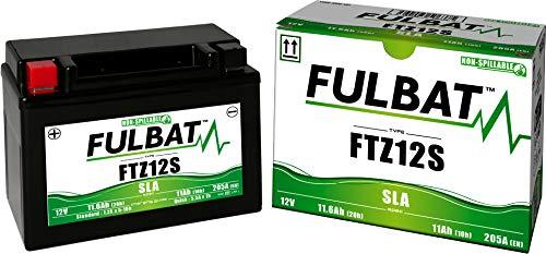Batería FULBAT YTZ12S 12V 11Ah 210A Largo: 150 x Ancho: 88 x Alto 110 (mm)