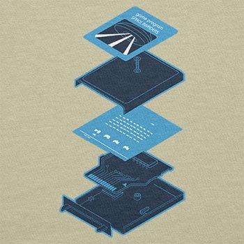Texlab–Game Program Cartridge–sacchetto di stoffa Naturale
