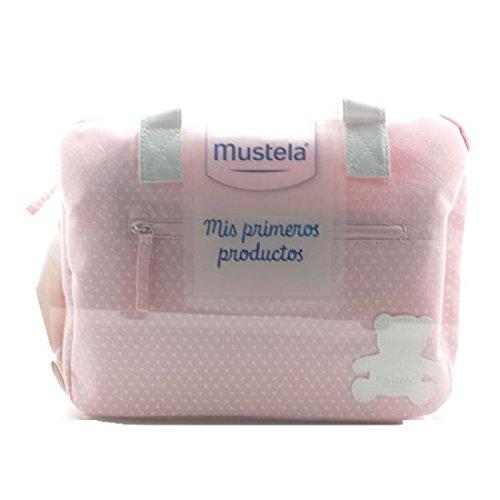 BOLSO MIS PRIMEROS PRODUCTOS MUSTELA ROSA (precio: 41,95€)