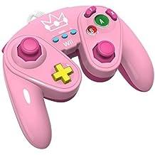 PDP - Mando Fight Pad Con Cable Peach (Nintendo Wii U)