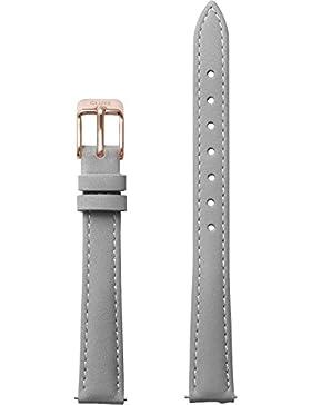 Cluse Damen Uhrenarmband La Vedette Leder Grau CLS506