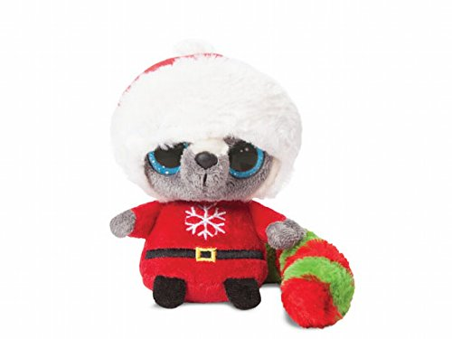 pupazzetti-di-peluche-di-aurora-yoohoo-friends-motivo-natalizio
