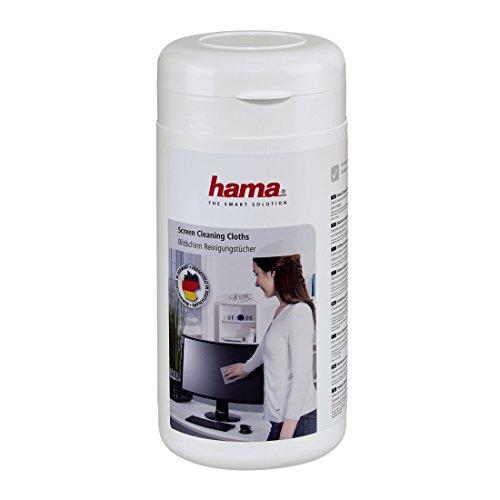 Hama 042212 - Paños húmedos, 100 unidades