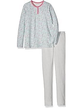 PETIT BATEAU Decousu, Pijama de Dos Piezas para Niñas