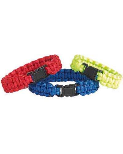 Mil-Tec Bracelet de Paracorde (Rouge, Large)