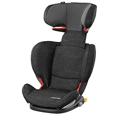 Maxi-Cosi RodiFix AirProtect Child Car Seat, ISOFIX Booster Seat, Extra Protection, 3.5-12 Years, 15-36 kg, Nomad Black  Britax Excelsior Ltd (First Order Account)