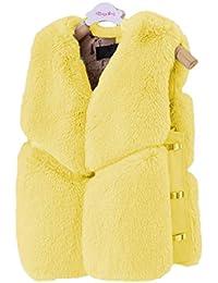944a76ac15e7 Amazon.co.uk  Yellow - Gilets   Coats   Jackets  Clothing