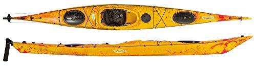 Tahe Marine Titris 16 Robson Wanderkajak Kajak Tourenkajak Wassersport Boot, Farbe:Grün, Ausstattung:mit Ruderanlage