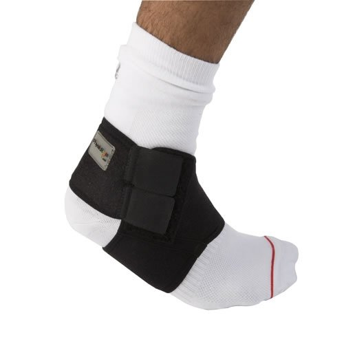 Speziell für die Anwendung im Fußballschuh geeignet - Dünnes Material und flache Nähte gegen Reizung | Anwendung: Knöchelverstauchung, Bänderüberdehnung, Sehnenschmerzen, Unterstützung nach Operationen | Durch Klettverschluss, welcher über d XL