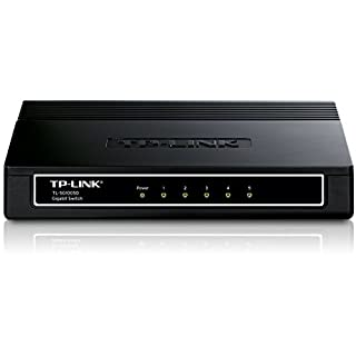 TP-Link TL-SG1005D Switch Desktop 5 Porte RJ45, Gigabit 10/100 / 1000 Mbps, Plug & Play, Struttura in Plastica (B000N99BBC) | Amazon price tracker / tracking, Amazon price history charts, Amazon price watches, Amazon price drop alerts