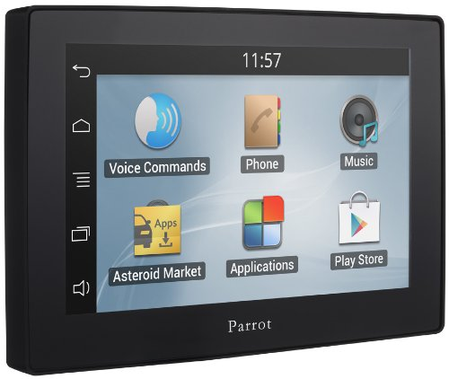 Parrot Asteroid PF360004AA 12,7 cm (5 Zoll) Tablet-PC (Cortex A8, 800MHz, 512MB RAM, WiFi, USB, Android 2.3)