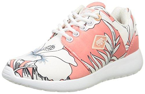 Le Temps des Cerises Lc Fly, Baskets Basses Fille Rose (Honolulu Pink)
