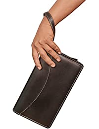 Sukeshcraft Multiple Cheque Book Holder With Wrist Loop Rfid Safe