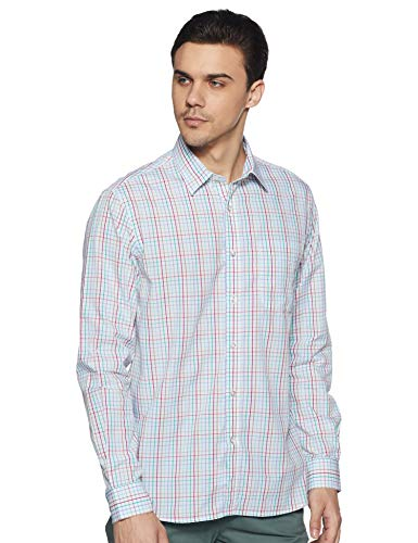 Bradstreet by Arrow Men's Plain Slim Fit Formal Shirt (BSXSH0094A_Multicolor_42)