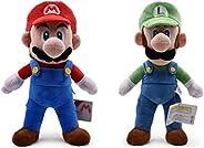 Super Mario & Luigi Inspired Soft Plush Toy | Multipurpose Stuffed Fi
