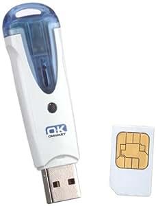 Omnikey 6121 Lecteur de carte à puce USB Dual Interface