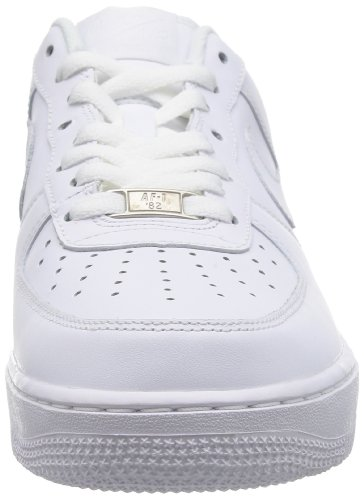 Nike Air Force 1 '07, Baskets mode homme Blanc - Weiß (WHITE/WHITE)