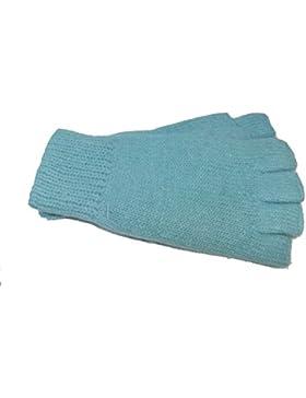 Roeckl Damen Halbfinger Angora Strick Handschuhe J-1765LB