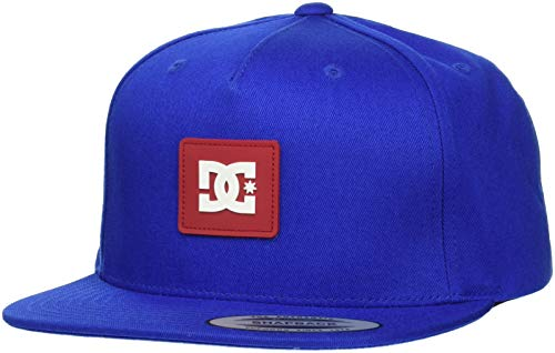 DC Shoes Snapdoodle Gorra, Hombre, Sodalite Blue, FR Unique Fabricant : Taille One sizeque