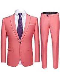 Amazon Fr Costume Homme Rose Costumes Et Vestes Homme