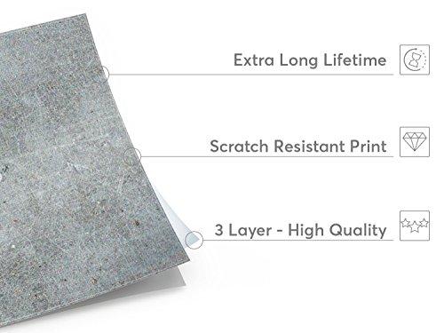Adesivi piastrelle in pvc rivestimenti bagno decorazioni murali