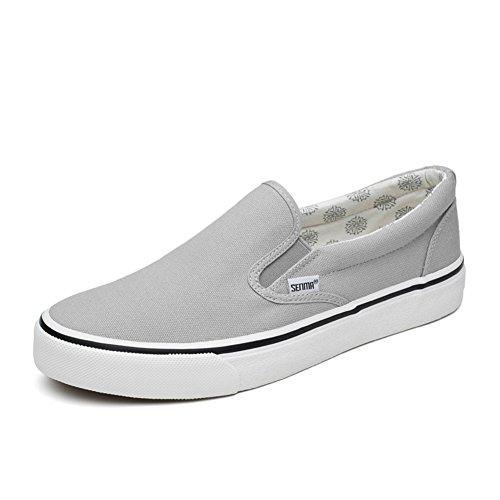 Chaussures avec une pédale/Chaussures paresseux/female coréennes shoes/Hommes chaussures de toile/Chaussure summer trends un couple de chaussures C