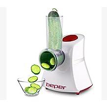 Beper 90.055H/RED - Cortador de verduras multifuncional, 150 W
