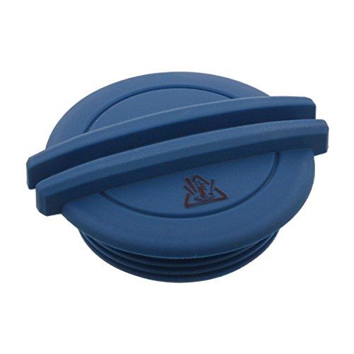 febi bilstein 40722 Kühlerverschlussdeckel / Kühlerdeckel für Ausgleichsbehälter, blau, 1 Stück (Kühlmittelbehälter)