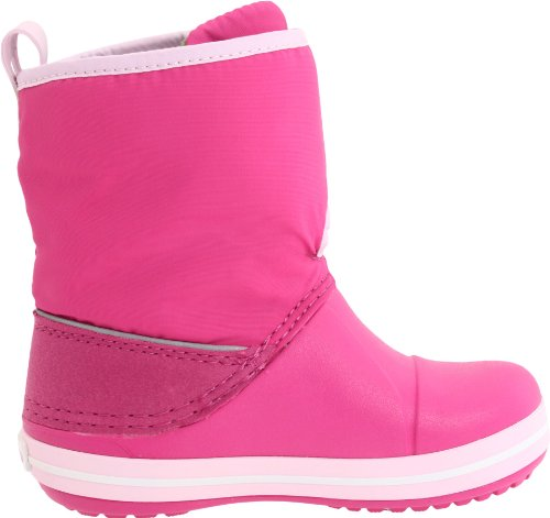 Crocs Crocband Gust Boot Kids, Boots mixte enfant Rose (Fuchsia/Bubblegum)