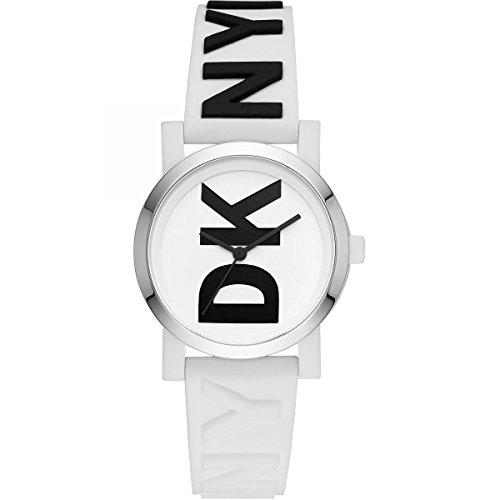DKNY Orologio Analogico Quarzo Donna con Cinturino in Pelle NY2725