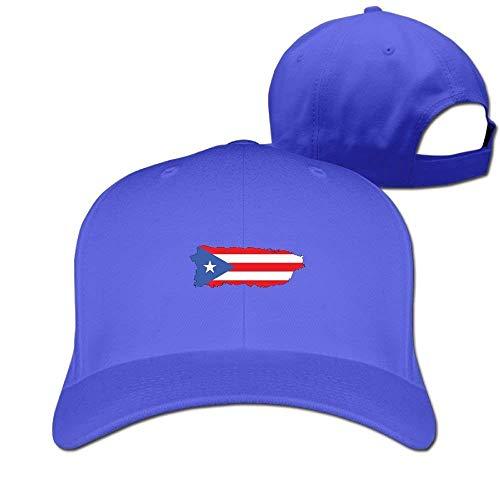 Preisvergleich Produktbild Puerto Rico Flag Solid Travel Cap Baseball Cap Sport Hats for Men and Womens